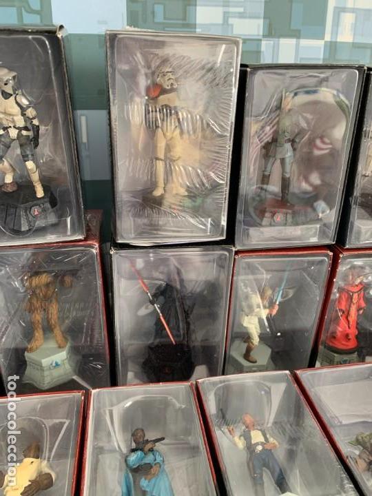 Figuras y Muñecos Star Wars: De Agostini Star Wars Chess Ajedrez completo juego figuras + fasciculos - Foto 4 - 162486202
