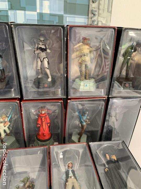 Figuras y Muñecos Star Wars: De Agostini Star Wars Chess Ajedrez completo juego figuras + fasciculos - Foto 5 - 162486202
