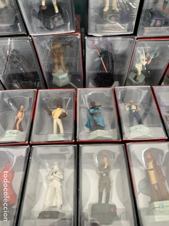 Figuras y Muñecos Star Wars: De Agostini Star Wars Chess Ajedrez completo juego figuras + fasciculos - Foto 9 - 162486202