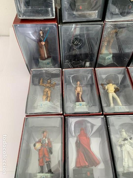 Figuras y Muñecos Star Wars: De Agostini Star Wars Chess Ajedrez completo juego figuras + fasciculos - Foto 10 - 162486202