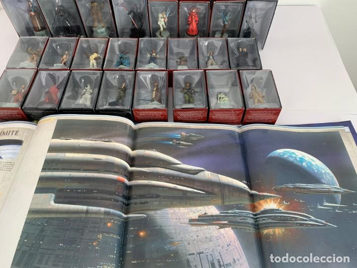 Figuras y Muñecos Star Wars: De Agostini Star Wars Chess Ajedrez completo juego figuras + fasciculos - Foto 12 - 162486202