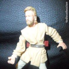 Figuras y Muñecos Star Wars: OBI WAN KENOBI - FIGURA STAR WARS - HASBRO 2002 -LA GUERRA DE LAS GALAXIAS. Lote 162597410