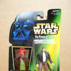 Figuras y Muñecos Star Wars: FIGURA STAR WARS BESPIN HAN SOLO POTF POWER OF THE FORCE HASBRO AÑOS 90. Lote 163212542