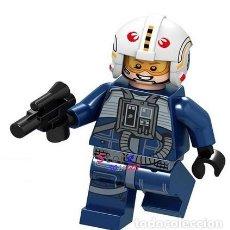 Figuras y Muñecos Star Wars: FIGURA DE STAR WARS, PILOTO REBELDE (NUEVO) LOTE 3. Lote 163584978