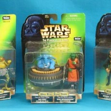 Figuras y Muñecos Star Wars: SET COMPLETO - MAX REBO BAND CANTINA - STAR WARS - POWER OF THE FORCE - KENNER VINTAGE FIGURAS. Lote 265954048