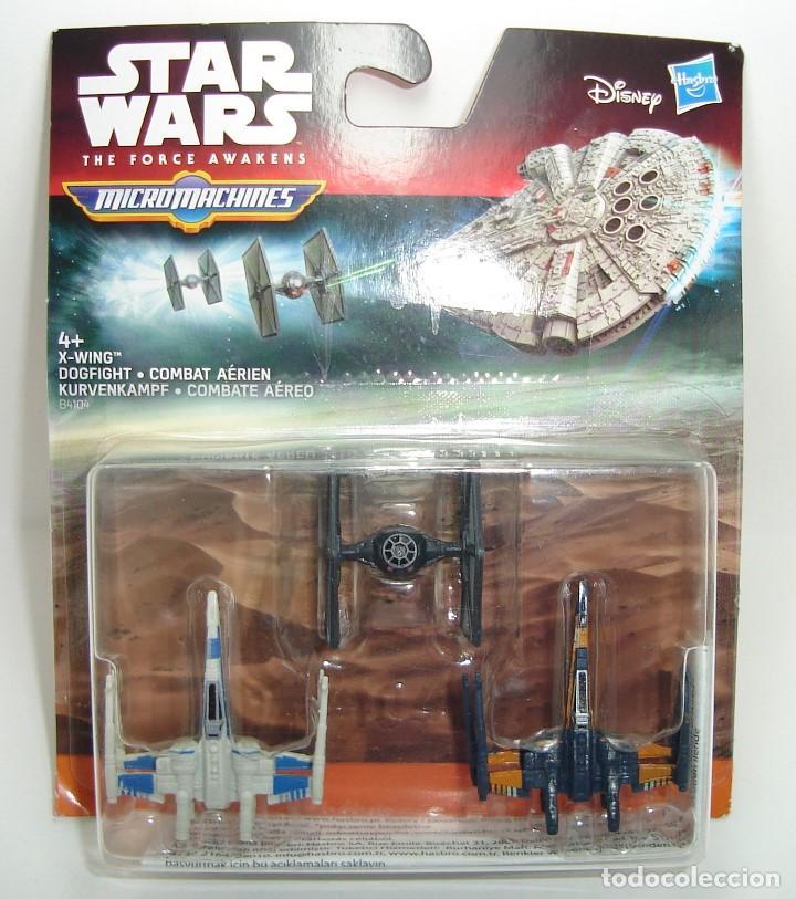 BLISTER NAVES STAR WARS MICRO MACHINES DISNEY HASBRO 1 (Juguetes - Figuras de Acción - Star Wars)