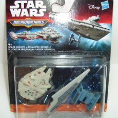 Figuras y Muñecos Star Wars: BLISTER NAVES STAR WARS MICRO MACHINES DISNEY HASBRO 2. Lote 163608886