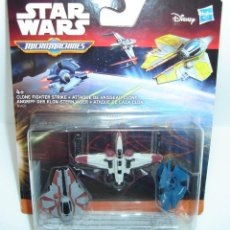 Figuras y Muñecos Star Wars: BLISTER NAVES STAR WARS MICRO MACHINES DISNEY HASBRO 3. Lote 163608930