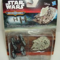 Figuras y Muñecos Star Wars: BLISTER NAVES STAR WARS MICRO MACHINES DISNEY HASBRO 4. Lote 163609098