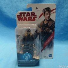 Figuras y Muñecos Star Wars: MUÑECO STAR WARS, FORCE LINK , DJ (CANTO BIGHT) EN SU BLISTER. Lote 163652778