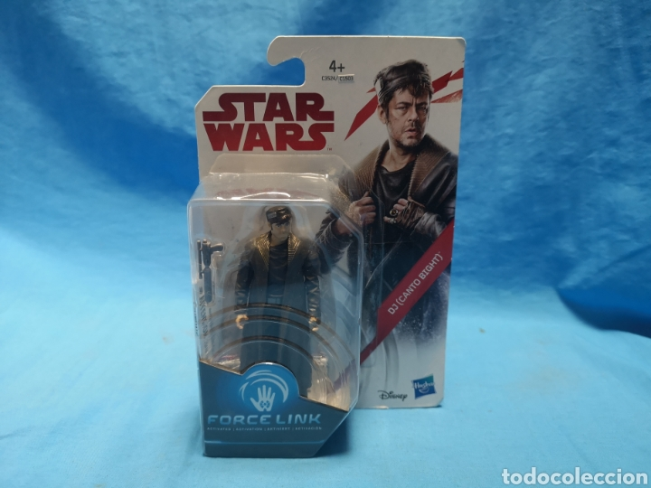 Figuras y Muñecos Star Wars: Muñeco star wars, force link , dj (canto bight) en su blister - Foto 2 - 163652778