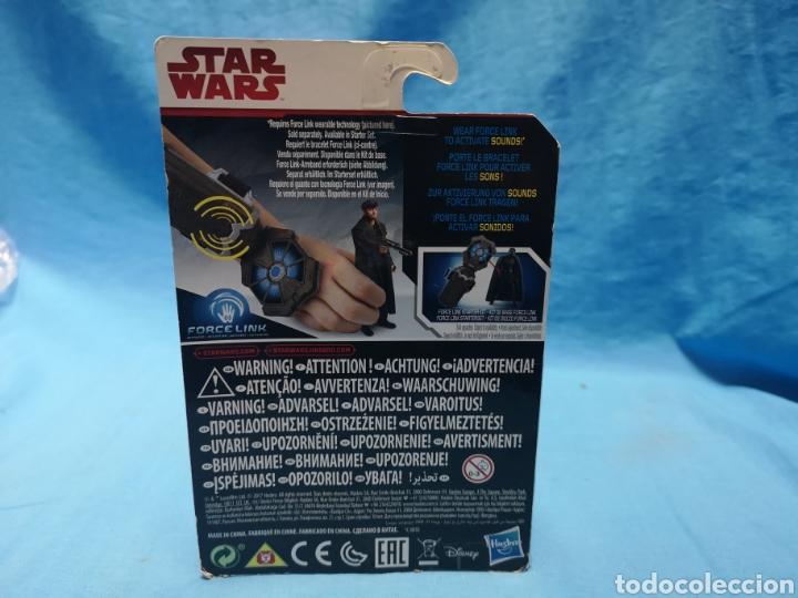 Figuras y Muñecos Star Wars: Muñeco star wars, force link , dj (canto bight) en su blister - Foto 3 - 163652778