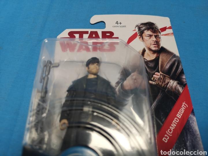 Figuras y Muñecos Star Wars: Muñeco star wars, force link , dj (canto bight) en su blister - Foto 4 - 163652778
