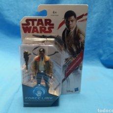 Figuras y Muñecos Star Wars: MUÑECO STAR WARS, FORCE LINK , FINN ( RESISTANCE FIGHTER) EN SU BLISTER. Lote 163655080