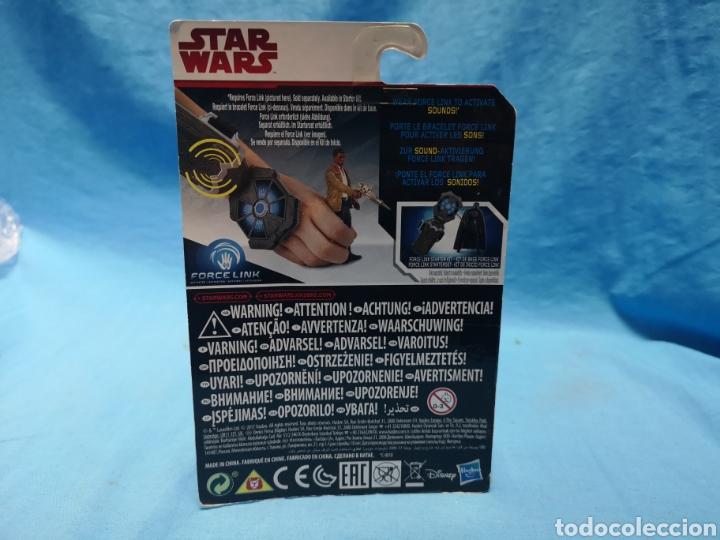 Figuras y Muñecos Star Wars: Muñeco star wars, force link , Finn ( resistance fighter) en su blister - Foto 3 - 163655080