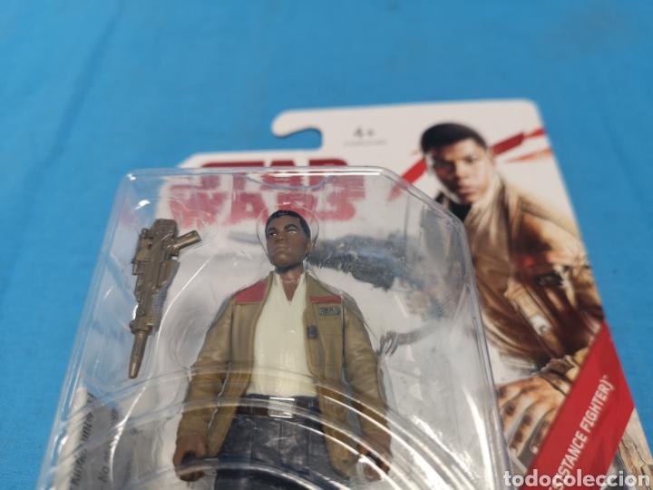 Figuras y Muñecos Star Wars: Muñeco star wars, force link , Finn ( resistance fighter) en su blister - Foto 4 - 163655080