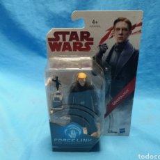Figuras y Muñecos Star Wars: MUÑECO STAR WARS, FORCE LINK , GENERAL HUX, EN SU BLISTER. Lote 163656504