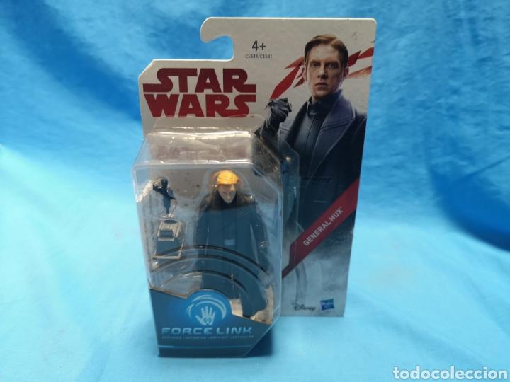 Figuras y Muñecos Star Wars: Muñeco star wars, force link , general hux, en su blister - Foto 2 - 163656504