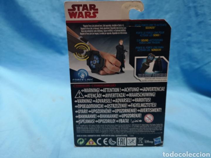 Figuras y Muñecos Star Wars: Muñeco star wars, force link , general hux, en su blister - Foto 3 - 163656504
