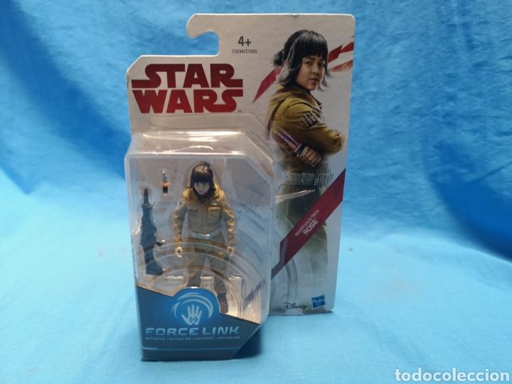 MUÑECO STAR WARS, FORCE LINK , RESISTANCE TECH, ROSE, EN SU BLISTER (Juguetes - Figuras de Acción - Star Wars)