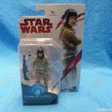 Figuras y Muñecos Star Wars: MUÑECO STAR WARS, FORCE LINK , RESISTANCE TECH, ROSE, EN SU BLISTER. Lote 163659306