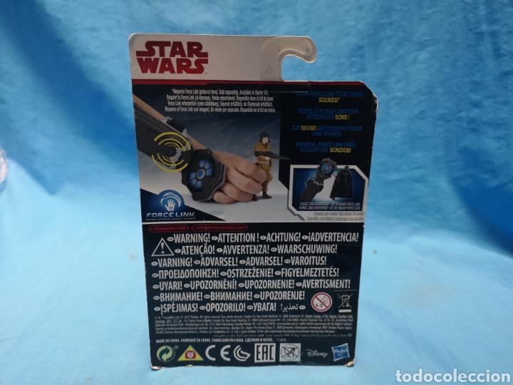 Figuras y Muñecos Star Wars: Muñeco star wars, force link , resistance tech, rose, en su blister - Foto 3 - 163659306