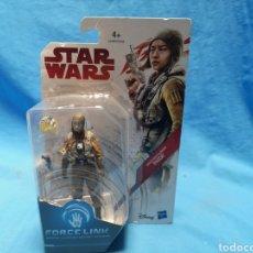 Figuras y Muñecos Star Wars: MUÑECO STAR WARS, FORCE LINK , RESISTANCE GUNNER, PAIGE, EN SU BLISTER. Lote 163662137