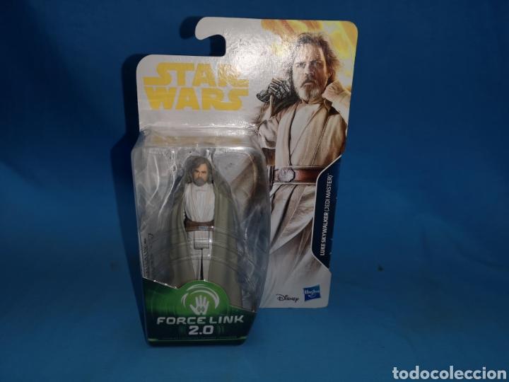 Figuras y Muñecos Star Wars: Muñeco star wars, porcelin 2.0, Luke Skywalker (jedi master) en su blister - Foto 2 - 163670565
