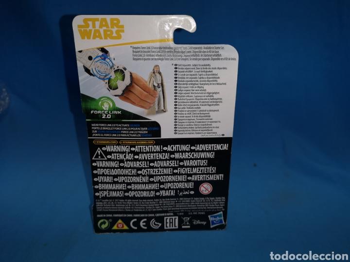 Figuras y Muñecos Star Wars: Muñeco star wars, porcelin 2.0, Luke Skywalker (jedi master) en su blister - Foto 3 - 163670565