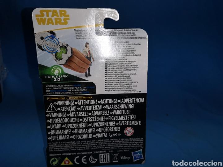Figuras y Muñecos Star Wars: Muñeco star wars force link 2.0 qira ( Corellia) en su blister - Foto 3 - 163673421