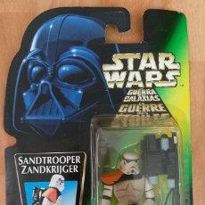 Figuras e Bonecos Star Wars: STAR WARS SANDTROOPER HASBRO 1996 NUEVO SELLADO TRI-LOGO IMPORT JAPONÉS. Lote 164139858