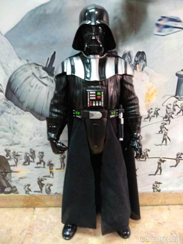 DARTH VADER. STAR WARS. ENORME FIGURA JAKKS PACIFIC. 80 CMS (Juguetes - Figuras de Acción - Star Wars)