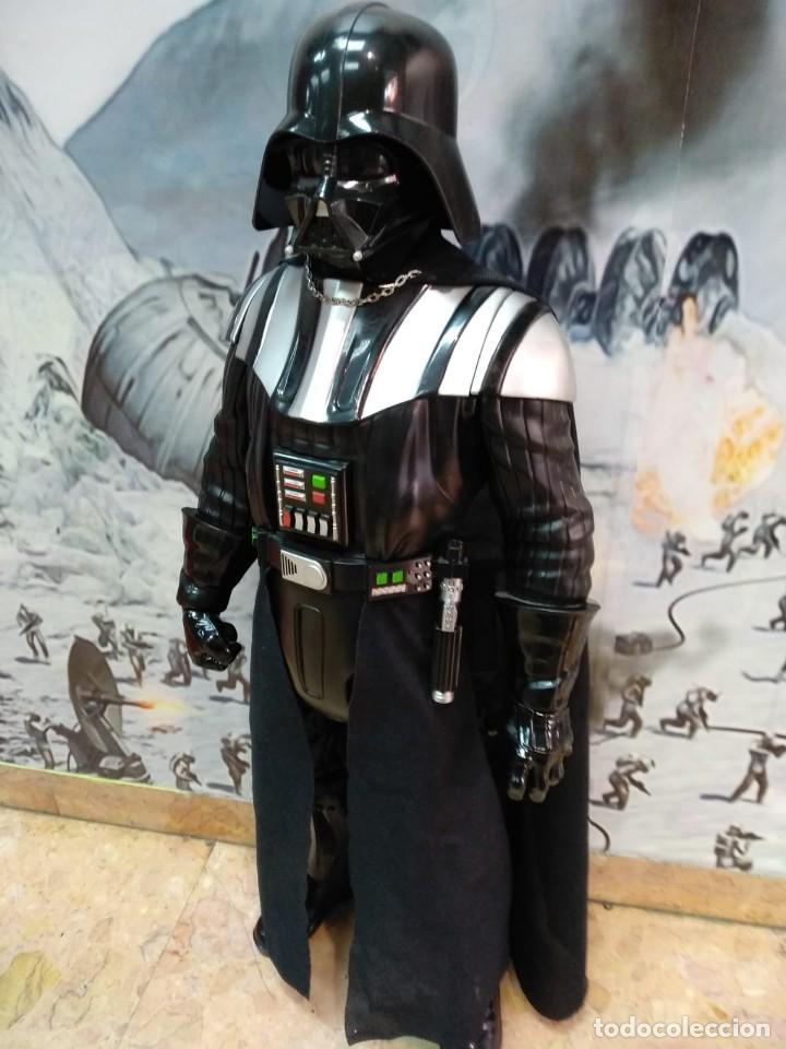 Figuras y Muñecos Star Wars: DARTH VADER. STAR WARS. ENORME FIGURA JAKKS PACIFIC. 80 CMS - Foto 3 - 164179130