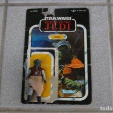 Figuras y Muñecos Star Wars: FIGURA ACCIÓN VINTAGE KLAATU COMPLETO ORIGINAL STAR WARS KENNER 1983 JABBA GUARD VINTAGE. Lote 164609202