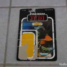 Figuras y Muñecos Star Wars: CARTÓN CARDBACK ORIGINAL FIGURA KLAATU 1983 LFL STAR WARS KENNER . Lote 164611530