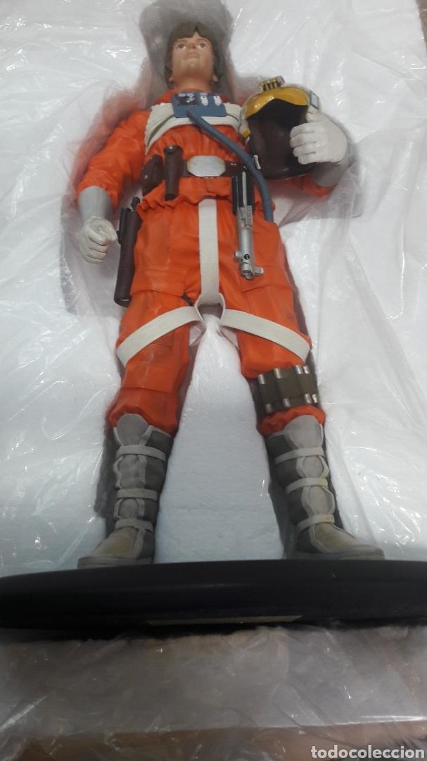 Figuras y Muñecos Star Wars: ESPECTACULAR FIGURA STAR WARS LUKE SKYWALKER ATTAKUS COLLECTION EDICIÓN LIMITADA NÚMERO 958 DE 1500 - Foto 3 - 164681505