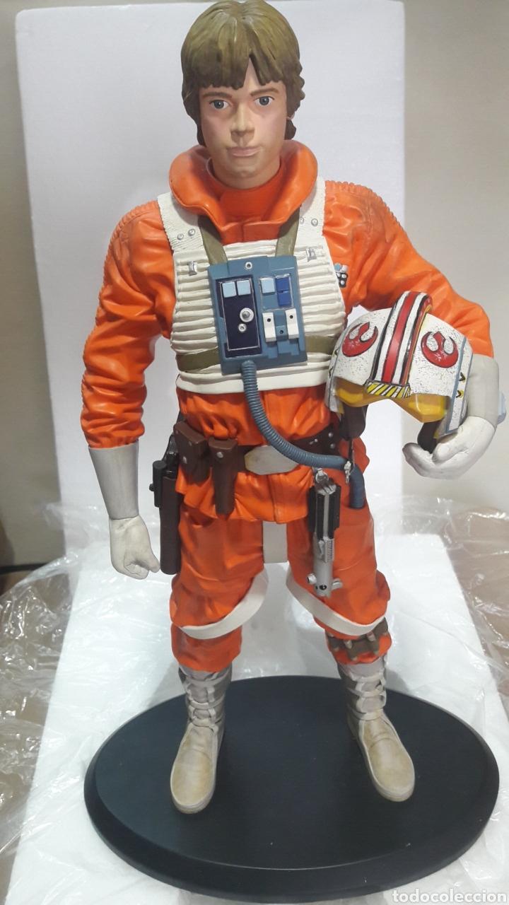 Figuras y Muñecos Star Wars: ESPECTACULAR FIGURA STAR WARS LUKE SKYWALKER ATTAKUS COLLECTION EDICIÓN LIMITADA NÚMERO 958 DE 1500 - Foto 4 - 164681505