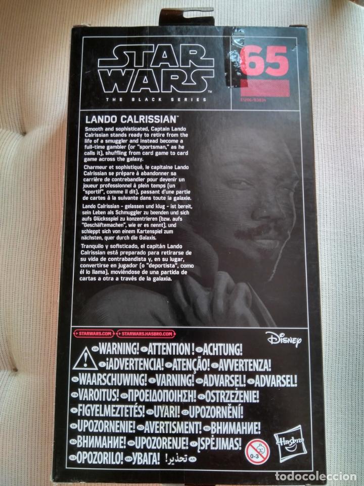 Figuras y Muñecos Star Wars: Star Wars The Black Series, Lando Calrissian - Foto 2 - 164800966