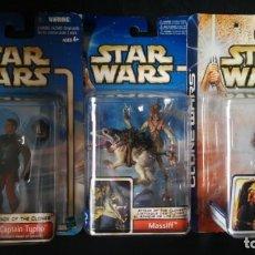 Figuras y Muñecos Star Wars: LOTE 2 FIGURAS PRECINTADAS STAR WARS. Lote 164904022