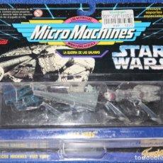 Figuras y Muñecos Star Wars: MICRO MACHINES - STAR WARS - FAMOSA ¡BLISTER CERRADO!. Lote 165037222