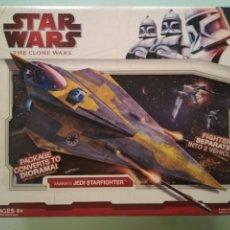 Figuras y Muñecos Star Wars: STAR WARS ANAKIN'S JEDI STARFIGHTER THE CLONE WARS. Lote 161890302