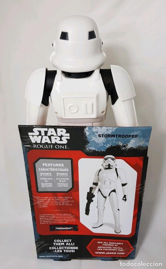 Figuras y Muñecos Star Wars: FIGURA GRANDE STAR WARS ROGUE ONE STORMTROOPER - 45.CM ALTO - Foto 2 - 172523948