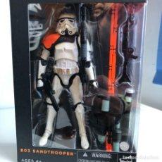 Figuras y Muñecos Star Wars: SANDTROOPER (SQUAD LEADER) 6IN. FIGURE - STAR WARS THE BLACK SERIES - HASBRO. Lote 165304668