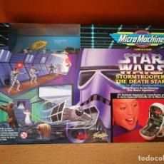 Figuras y Muñecos Star Wars: STAR WARS MICROMACHINES STORMTROOPER/THE DEATH STAR. Lote 165350178