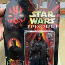 Figuras e Bonecos Star Wars: FIGURA DARTH MAUL STAR WARS EPISODIO I AMENZA FANTASMA 20 ANIVERSARIO HASBRO. Lote 165515149
