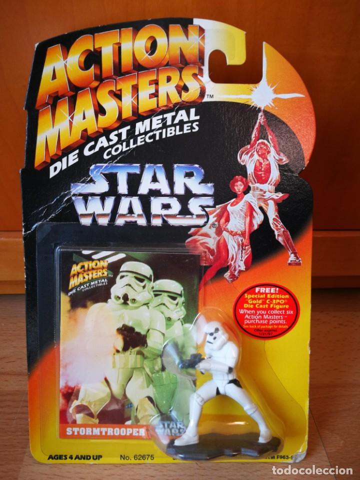 STAR WARS ACTION MASTERS DIE CAST METAL STORMTROOPER (Juguetes - Figuras de Acción - Star Wars)