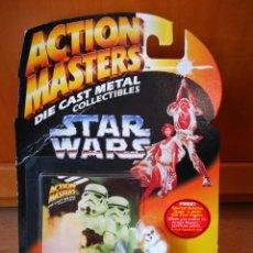 Figuras y Muñecos Star Wars: STAR WARS ACTION MASTERS DIE CAST METAL STORMTROOPER. Lote 194700853