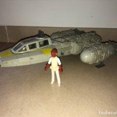 Figuras y Muñecos Star Wars: Y WING FIGHTER SHIP - STAR WARS 1983 - VINTAGE - KENNER - ALMIRANTE ACKBAR. Lote 165916121
