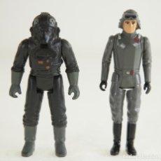 Figuras y Muñecos Star Wars: STAR WARS TIE FIGHTER PILOT Y AT-AT COMMANDER. Lote 166184426