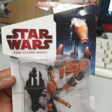 Figuras y Muñecos Star Wars: BATTLE DROID - STAR WARS : THE CLONE WARS / FIGURA NUEVA EN SU CAJA. Lote 166251622